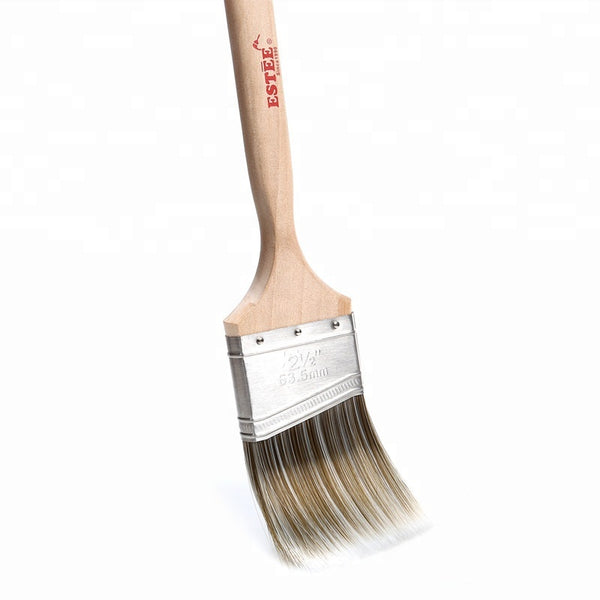 ESTEE™ Natural Bristle Flat 3-in Paint Brush