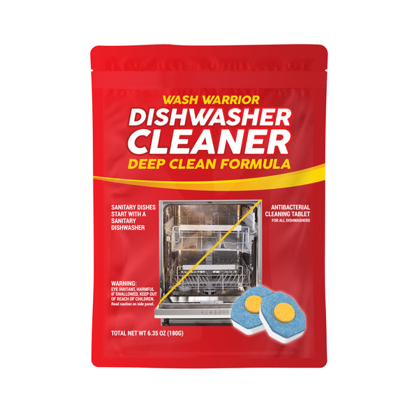 Wash Warrior™ Dishwasher Deep Cleaning Tablets