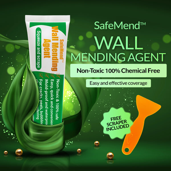 SafeMend™ Non-Toxic Wall Mending Agent Free Gift