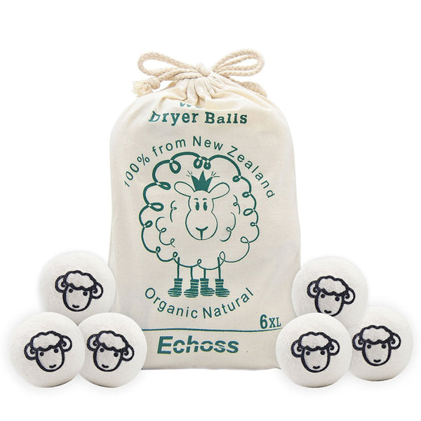 Echoss™ Reusable Natural Fabric Softener Balls