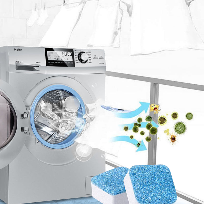 Wash Warrior™ Washing Machine Deep Cleaning Tablets Free Gift