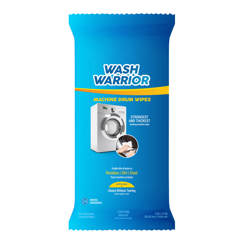 Wash Warrior™ Washing Machine Drum Deep Cleaning Wipes