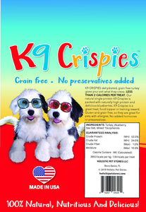 K9 Crispies Turkey with Blueberry