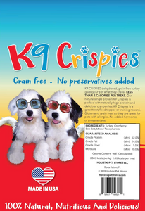 K9 Crispies Turkey with Cranberry