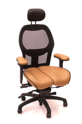 Brezza Core-flex with Pecan UltraLeather and headrest $1,450