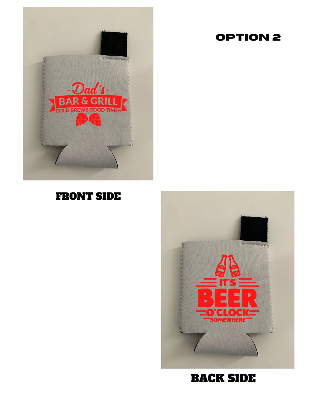 Neoprene beverage holder