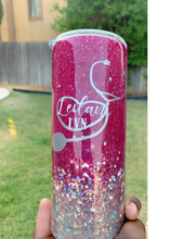Load image into Gallery viewer, Nurse Glitter Tumbler