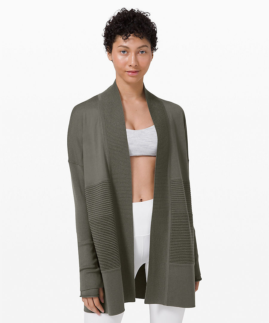 Lululemon Sit Lotus Wrap II - Grey Sage