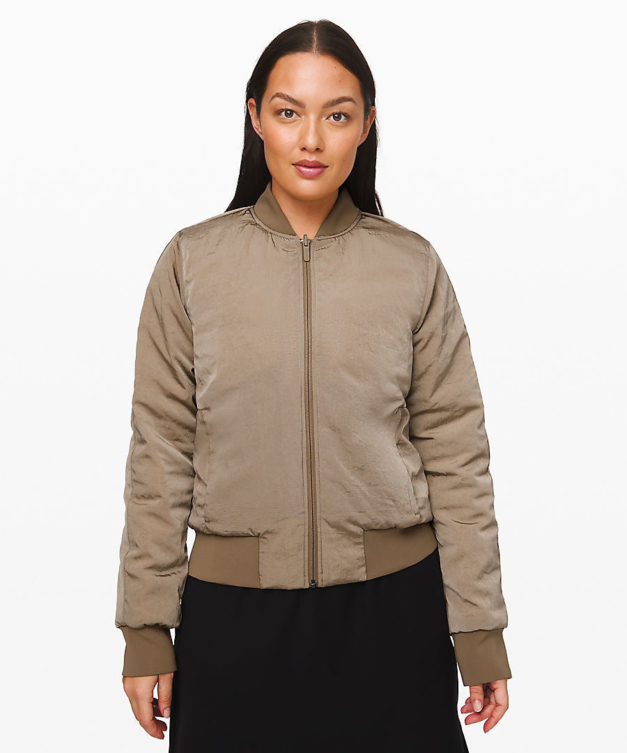 Lululemon Non Stop Bomber Jacket - Frontier
