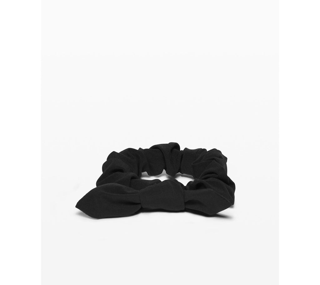 Lululemon Uplifting Scrunchie Bow - Black