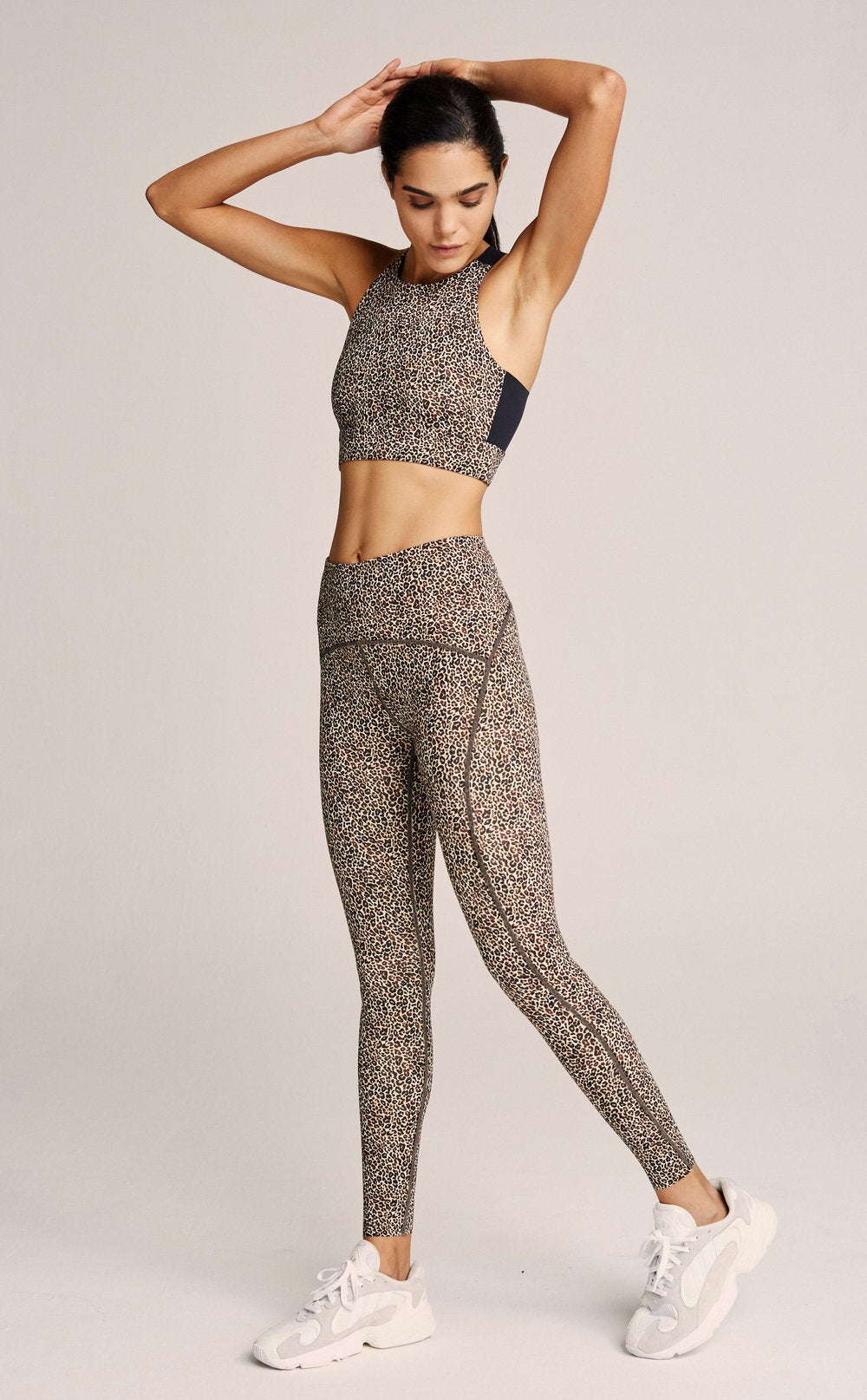 Varley Meadow Legging Mid-Rise 7/8 * Classic Leopard