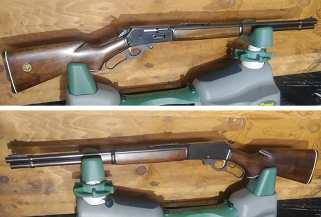 Fully refinished Marlin 336 rifle after severe fire damage