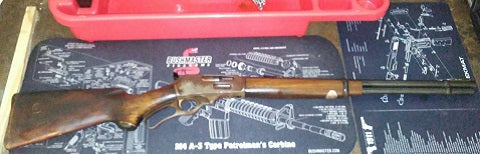 Fire Damaged Marlin 336 Rifle -- Before