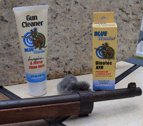 Remove Rust with Blue Wonder Gun Cleaner