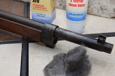 Rust is gone after using Blue Wonder Gun Cleaner