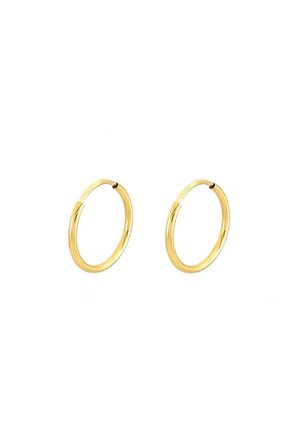 14k Gold Cyndi Hoops