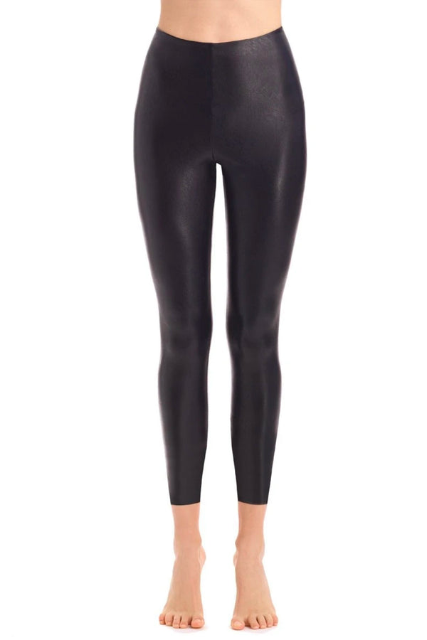7/8 Faux Leather Legging with Perfect Control