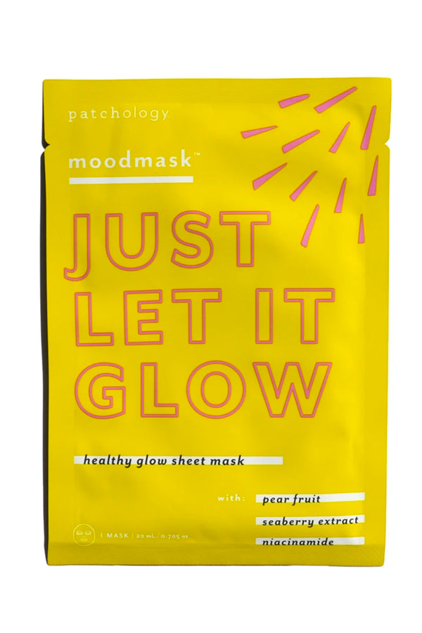 Moodmask Just Let It Glow Sheet Mask