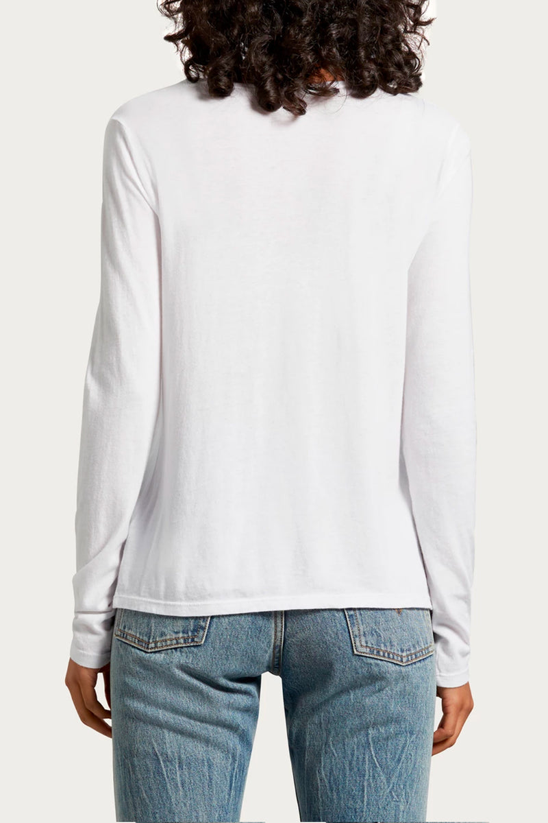 Leslie Long Sleeve Crewneck Tee