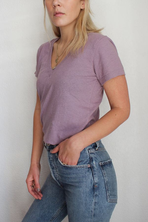 Sustainable V-Neck Tee