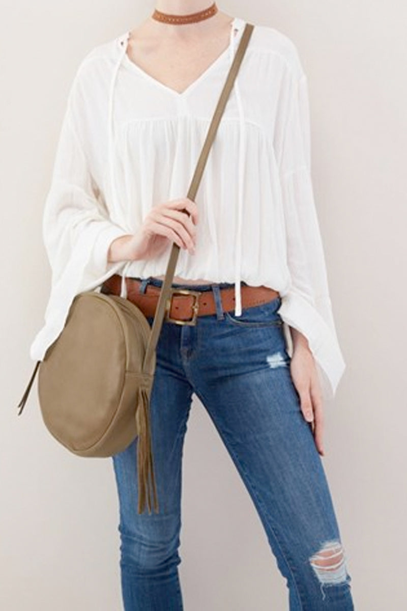 Union Leather Crossbody