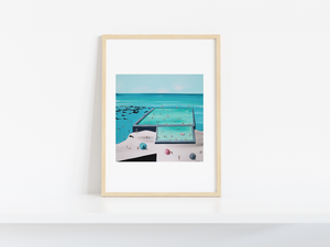 BULLI BEACH POOLS - LIMITED EDITION PRINT