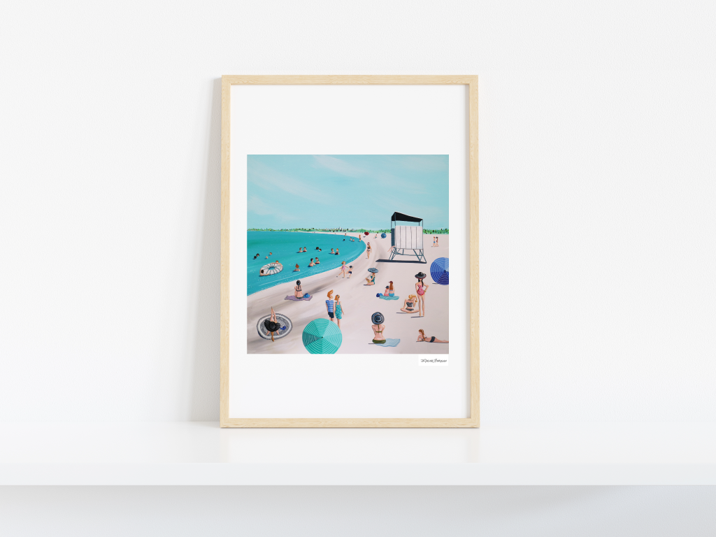THE WHITE HUT  - LIMITED EDITION PRINT
