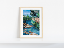 Load image into Gallery viewer, RIVER AT  MADDENS FALLS  - LIMITED EDITION PRINT