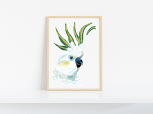 Load image into Gallery viewer, THE WHITE COCKATOO - LIMITED EDITION PRINT