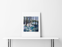 Load image into Gallery viewer, TO THE LAKE- LIMITED EDITION PRINT