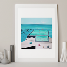 Load image into Gallery viewer, BULLI BEACH POOLS - LIMITED EDITION PRINT