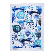 Load image into Gallery viewer, HUMP BACK WHALE TEA TOWEL