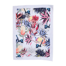 Load image into Gallery viewer, FAIRY WREN AND BANKSIA TEA TOWEL
