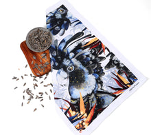 Load image into Gallery viewer, BLACK COCKATOO TEA TOWEL