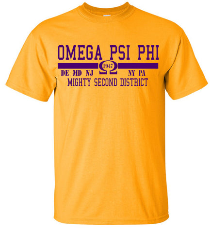 Omega Psi Phi 2ND District