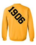 Alpha Phi Alpha Anchor Crewneck Sweatshirt (Gold)