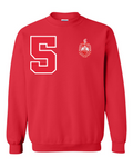 Delta Sigma Theta Anchor Crewneck Sweatshirt (Red)