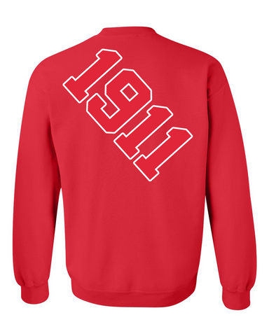 f473a719 Kappa Alpha Psi Anchor Crewneck Sweatshirt (Red) – Tenacious Wear