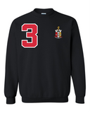 Kappa Alpha Psi Flagship Crewneck Sweatshirt (Black)