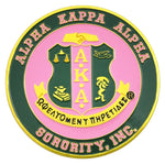 Greek Fraternity and Sorority Car Tags