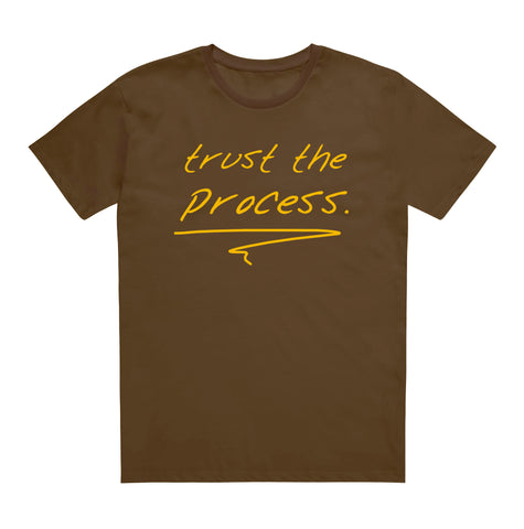 trust the process[brown/gold]