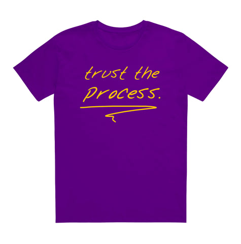 trust the process[purple/gold]