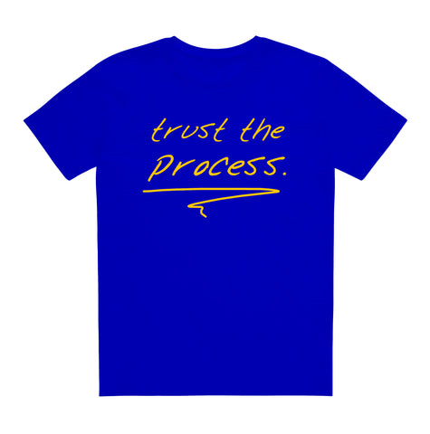 trust the process[blue/gold]
