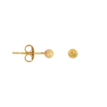 Gold plated Dot oorbellen