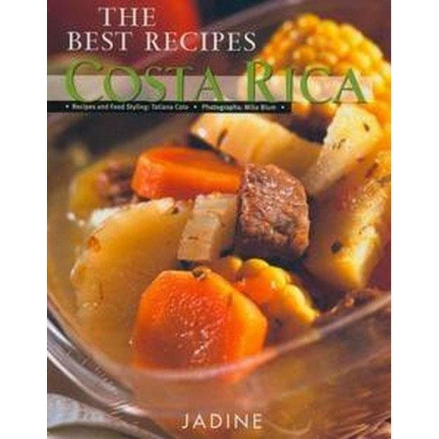 Book: The best recipes Costa Rica