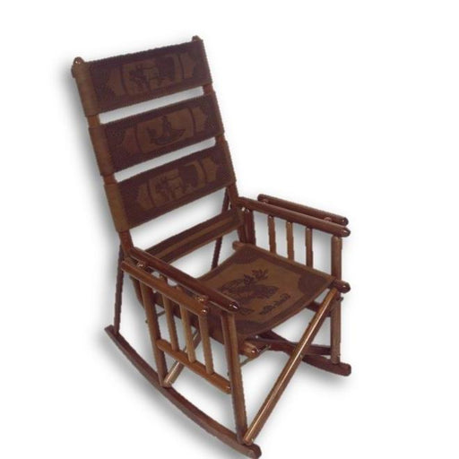 High Back RockingChair Tucan Design
