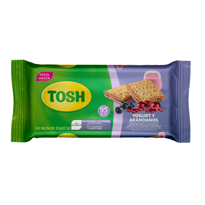 Yogurt and Berries Tosh Cookies 5.8oz