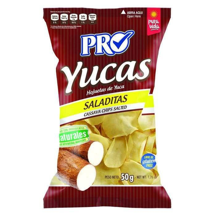 Yuca Chips 1.75 oz Pro Snacks