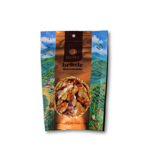Cafe Britt Macadamia Brittle 5oz