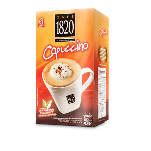 Cafe 1820 Instant Capuccino 120g